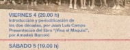 Jornadas sobre la Guerra Civil en Cretas